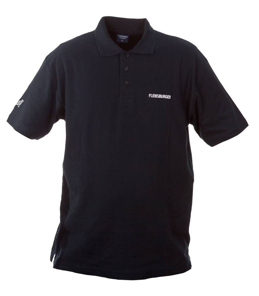 Flensburger Polo-Shirt, dunkelblau