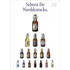 "Flens-Poster ""Sehtest"" DIN A1 (Accessoires)"